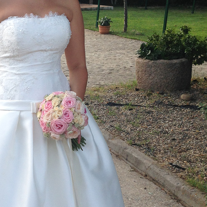 Ramos de novia para vestidos de encaje